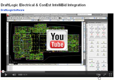 DraftLogic Electrical and ConEst IntelliBid Integration YouTube HD Video